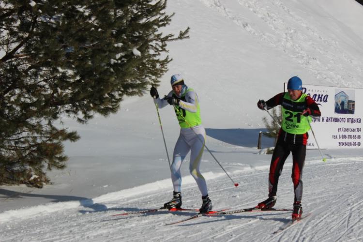 Мороз и лыжи-день чудесный!